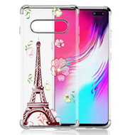 *Sale* Klarion Crystal Clear Diamond Tough Case for Samsung Galaxy S10 5G - Eiffel Tower