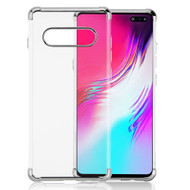*Sale* Klarion Crystal Clear Tough Case for Samsung Galaxy S10 5G - Silver