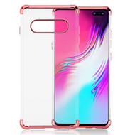 *Sale* Klarion Crystal Clear Tough Case for Samsung Galaxy S10 5G - Rose Gold