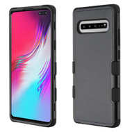 Military Grade Certified TUFF Hybrid Armor Case for Samsung Galaxy S10 5G - Black