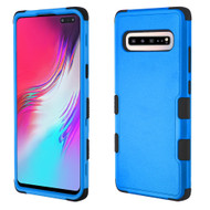 Military Grade Certified TUFF Hybrid Armor Case for Samsung Galaxy S10 5G - Blue
