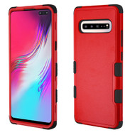 *Sale* Military Grade Certified TUFF Hybrid Armor Case for Samsung Galaxy S10 5G - Red