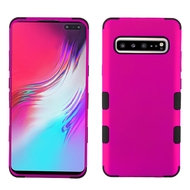 Military Grade Certified TUFF Hybrid Armor Case for Samsung Galaxy S10 5G - Hot Pink