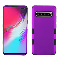 Military Grade Certified TUFF Hybrid Armor Case for Samsung Galaxy S10 5G - Purple