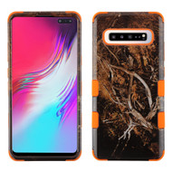 Military Grade Certified TUFF Hybrid Armor Case for Samsung Galaxy S10 5G - Tree Camouflage