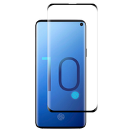 3D Full Curved Edge Tempered Glass Screen Protector for Samsung Galaxy S10 - Black