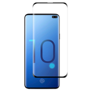3D Full Curved Edge Tempered Glass Screen Protector for Samsung Galaxy S10 Plus - Black