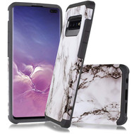 *Sale* Hybrid Multi-Layer Armor Case for Samsung Galaxy S10 5G - Marble White