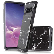 *Sale* Hybrid Multi-Layer Armor Case for Samsung Galaxy S10 5G - Marble Black