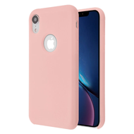 Liquid Silicone Protective Case for iPhone XR - Pink