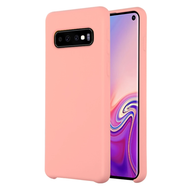 Liquid Silicone Protective Case for Samsung Galaxy S10 - Pink