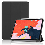 *Sale* Smart Leather Hybrid Case with Translucent Back Cover for iPad Pro 12.9 inch (3rd Generation) - Black
