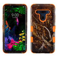 Military Grade Certified TUFF Hybrid Armor Case for LG G8 ThinQ - Tree Camouflage