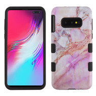 Military Grade Certified TUFF Hybrid Armor Case for Samsung Galaxy S10e - Marble Purple