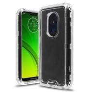 Atomic Tough Hybrid Case for Motorola Moto G7 Power / G7 Supra - Clear