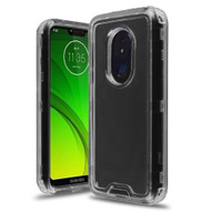 *Sale* Atomic Tough Hybrid Case for Motorola Moto G7 Power / G7 Supra - Black
