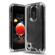 *Sale* Atomic Tough Hybrid Case for LG Aristo 3 / Aristo 2 Plus / Fortune 2 / Tribute Empire - Black