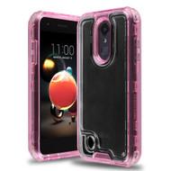 *Sale* Atomic Tough Hybrid Case for LG Aristo 3 / Aristo 2 Plus / Fortune 2 / Tribute Empire - Pink