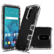 Military Grade Certified TUFF Lucid Transparent Hybrid Armor Case for LG Stylo 4 / Stylo 4 Plus - Clear