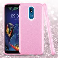 *Sale* Full Glitter Hybrid Protective Case for LG K40 - Pink