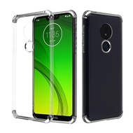 *Sale* Klarion Crystal Clear Tough Case for Motorola Moto G7 Power / G7 Supra - Silver