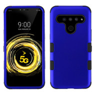 Military Grade Certified TUFF Hybrid Armor Case for LG V50 ThinQ - Blue
