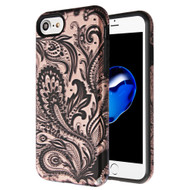 Fuse Slim Armor Hybrid Case for iPhone 8 / 7 / 6S / 6 - Phoenix Flower