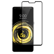 Premium Full Coverage 2.5D Tempered Glass Screen Protector for LG V50 ThinQ - Black