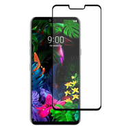 Premium Full Coverage 2.5D Tempered Glass Screen Protector for LG G8 ThinQ - Black
