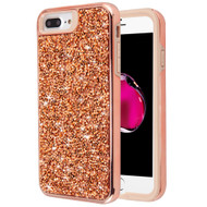 *Sale* Desire Mosaic Crystal Hybrid Case for iPhone 8 Plus / 7 Plus / 6S Plus / 6 Plus - Rose Gold