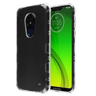 TUFF Klarity Transparent Anti-Shock TPU Case for Motorola Moto G7 Power / G7 Supra - Clear