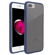 Frost Semi Transparent Hybrid Case for iPhone 8 Plus / 7 Plus / 6S Plus / 6 Plus - Blue