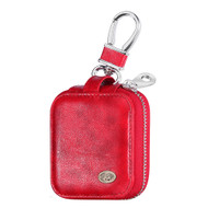 Element Series Protective Leather Case for Apple AirPods - Red