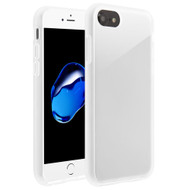 Frost Semi Transparent Hybrid Case for iPhone 8 / 7 / 6S / 6 - White