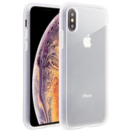 Frost Semi Transparent Hybrid Case for iPhone XS Max - White