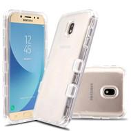 Military Grade Certified TUFF Lucid Transparent Hybrid Case for Samsung Galaxy J7 (2018) / J7 Refine / J7 Star - Clear