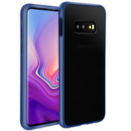 Frost Semi Transparent Hybrid Case for Samsung Galaxy S10e - Blue