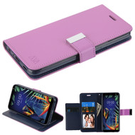 *Sale* Xtra Series Essential Leather Wallet Stand Case for LG K40 - Purple
