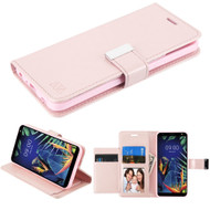*Sale* Xtra Series Essential Leather Wallet Stand Case for LG K40 - Rose Gold