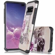 *Sale* Hybrid Multi-Layer Armor Case for Samsung Galaxy S10 5G - Eiffel Tower