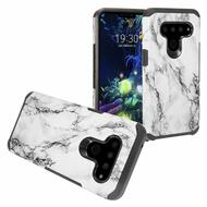 *Sale* Hybrid Multi-Layer Armor Case for LG V50 ThinQ - Marble White