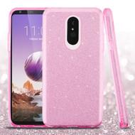 *Sale* Full Glitter Hybrid Protective Case for LG Stylo 5 - Pink