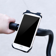 Miracle Silicone Web Bike Handlebar Mount - Black