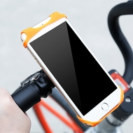 Miracle Silicone Web Bike Handlebar Mount - Orange