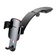 Metal Age Gravity Sensing Auto Lock Car Dashboard Cradle Mount Holder - Black