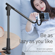 Unlimited Adjustment Lazy Phone Table Mount Holder - Grey