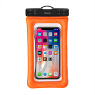 Stay Dry Air Cushion IPX8 Waterproof Case - Orange