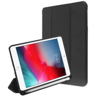 Smart Leather Hybrid Case with Apple Pencil Holder for iPad Mini 5 (5th Generation) / iPad Mini 4 - Black
