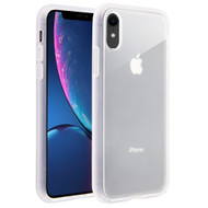 Frost Semi Transparent Hybrid Case for iPhone XR - White