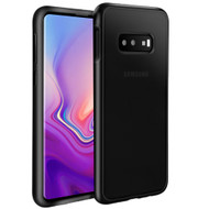 Frost Semi Transparent Hybrid Case for Samsung Galaxy S10e - Black